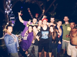 Samana Festival closing party group