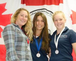 2015 C1 Senior National Champion in Chilliwack with Lois and Haley :)